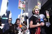 Kara Cuma' protestosunda Sokaklara döküldüler