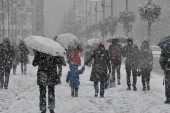 İstanbul'un Anadolu Yakasında kar yağışı başladı