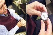 Erdoğan'ın özel kol saati…