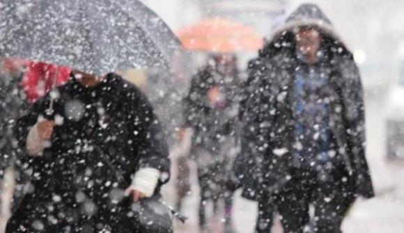 İstanbul'a beklenen kar yağışı geliyor