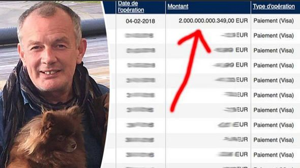 Bankanın 'ufak' bir hatasıyla 2 trilyon avronun sahibi oldu!