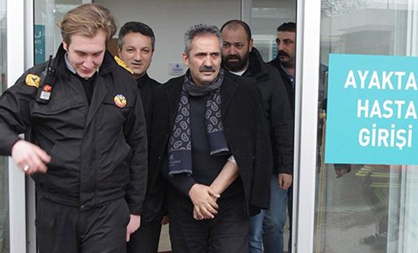 Yavuz Bingöl hastaneye kaldırıldı!