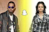 Rihanna kendisiyle dalga geçen Snapchat reklamını kınadı