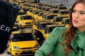 Demet Akalın Taksi ve Uber arasında yaşanan tartışmada tarafını seçti!