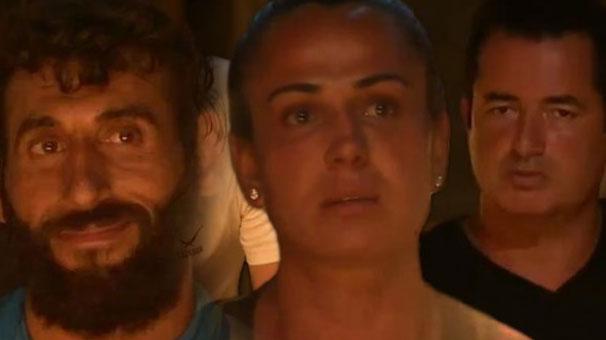 Survivor'da Nagihan'ın Cumali İsyanı