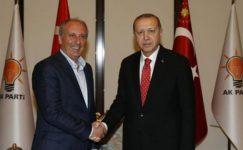 Erdoğan ile görüşmesi sonrasında İnce'den ilk açıklama