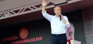Muharrem İnce Erzincan'da konuştu