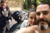 Oyuncu Burcu Biricik ve eşi Emre Yetkin kazada yaralandı!