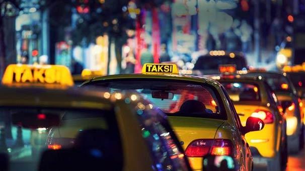 Takside iğrenç olay!