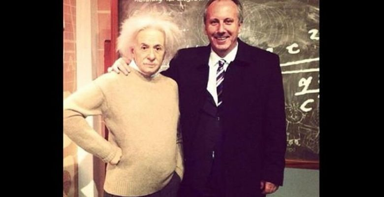 Muharrem İnce'den 'Einstein'lı paylaşım!