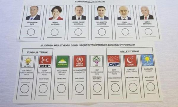 Seçmene 2 oy uyarısı