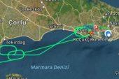 THY uçağı 2 saattir İstanbul üzerinde tur atıyor