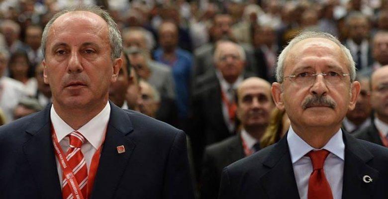 Kemal Kılıçdaroğlu ve Muharrem İnce görüşmesi