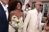 Ünlü Fransız aktör Vincent Cassel, Tina Kunakey ile evlendi