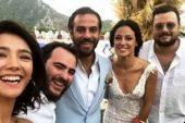Erkan Kolçak Köstendil ile Cansu Tosun evlendi