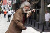 Usta oyuncu Taner Barlas rolüne alışmak için sokaklarda yatıp kalkıyor