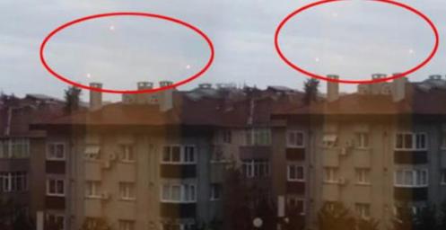İstanbul'da esrarengiz görüntü! Gökyüzünden alev topu yağdı!