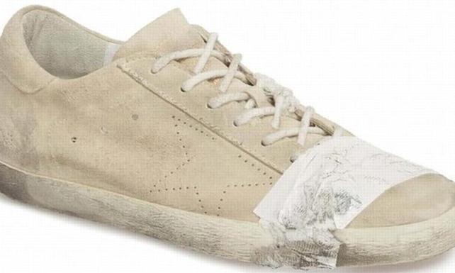 530 dolarlık yıpranmış görünümlü ayakkabıya 'fakirlikle alay ediliyor' tepkisi
