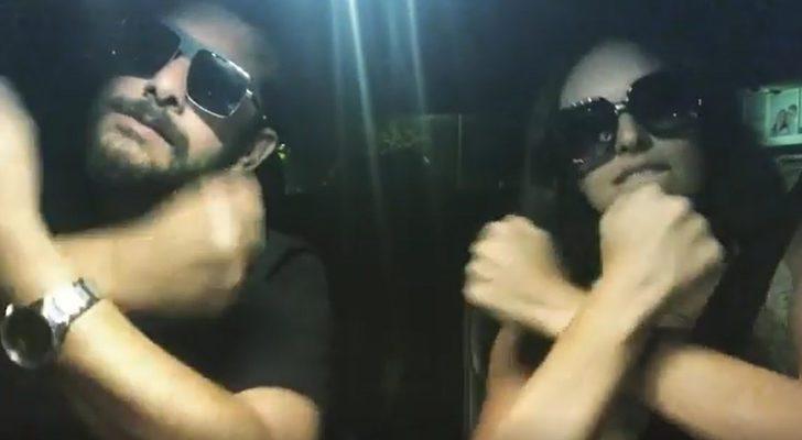 Enis Arıkan ve Ezgi Mola'nın, Aleyna Tilki videosu sosyal medyayı salladı