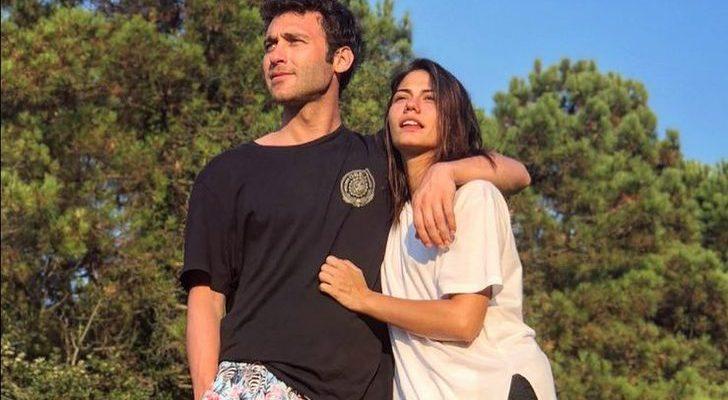 Seçkin Özdemir'e sevgilisinden böyle destek