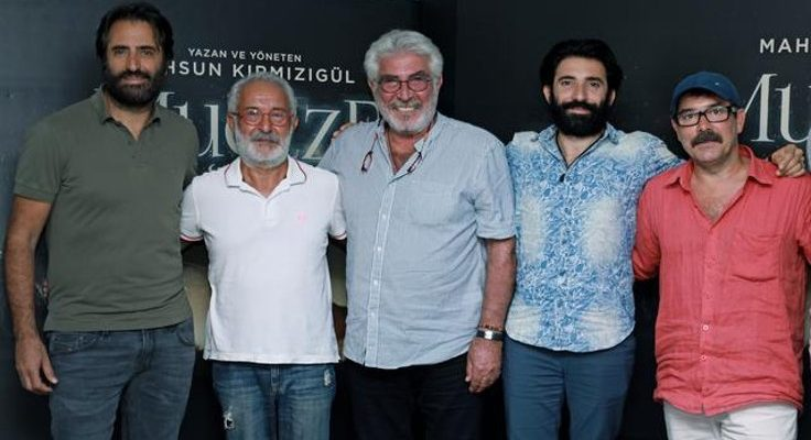 Erdal Özyağcılar paylaştı, Mahsun'un film imajı ortaya çıktı