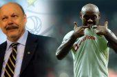 Santos başkanından Vagner Love için ağır küfür!
