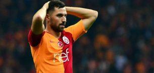 Galatasaray'da Sinan Gümüş sakatlandı…