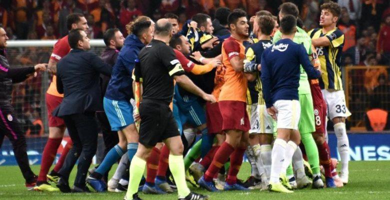 PFDK'nın Galatasaray-Fenerbahçe maçı için verdiği cezalar farklı tepkilere neden oldu