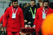 Kasımpaşa Beşiktaş maçında şanssız an!
