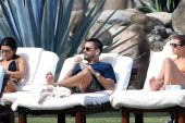 Kourtney Kardashian Scott Disick ve Sofia Richie'den 'üçlü dostluk'