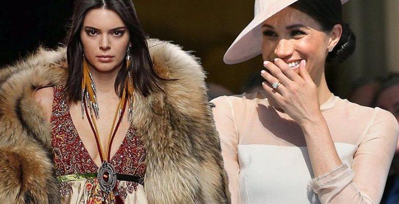 Meghan Markle, Kendall Jenner'ın hayallerini suya düşürdü