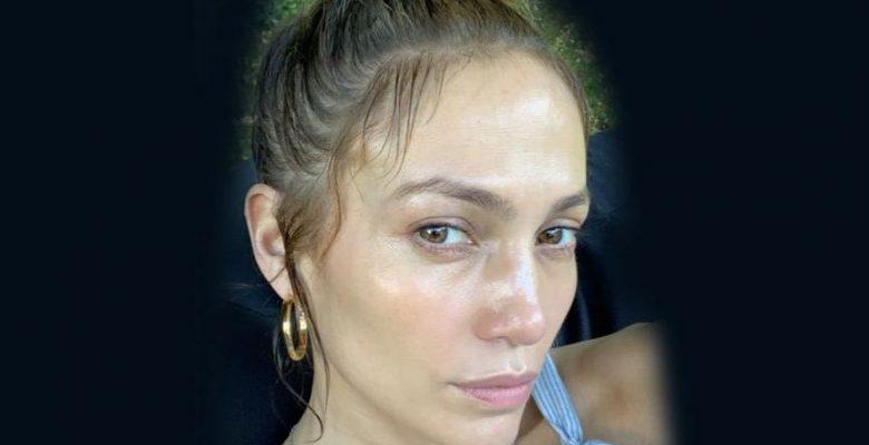 Jennifer Lopez'in makyajsız hali şaşkınlık yarattı! İşte makyajsız ünlüler
