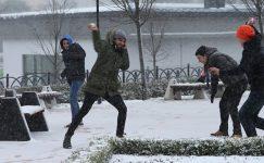 İstanbul'da okullar 25 Şubat pazartesi günü tatil edildi