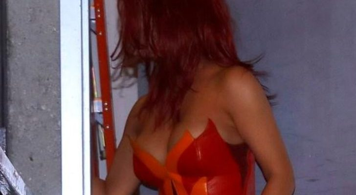 Kim Kardashian'ın kırmızı tercihi olay oldu