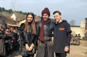 Mesut Özil'den Diriliş Ertuğrul setine ziyaret