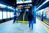 New York metrosunda feci ölüm!