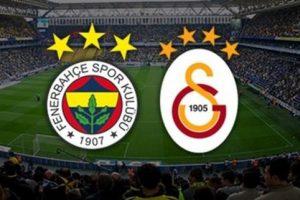Fenerbahçe-Galatasaray Derbisi