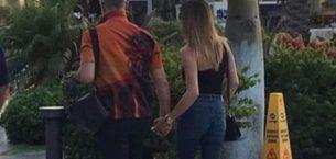 Geçen ay boşanmışlardı el ele görüntülendiler
